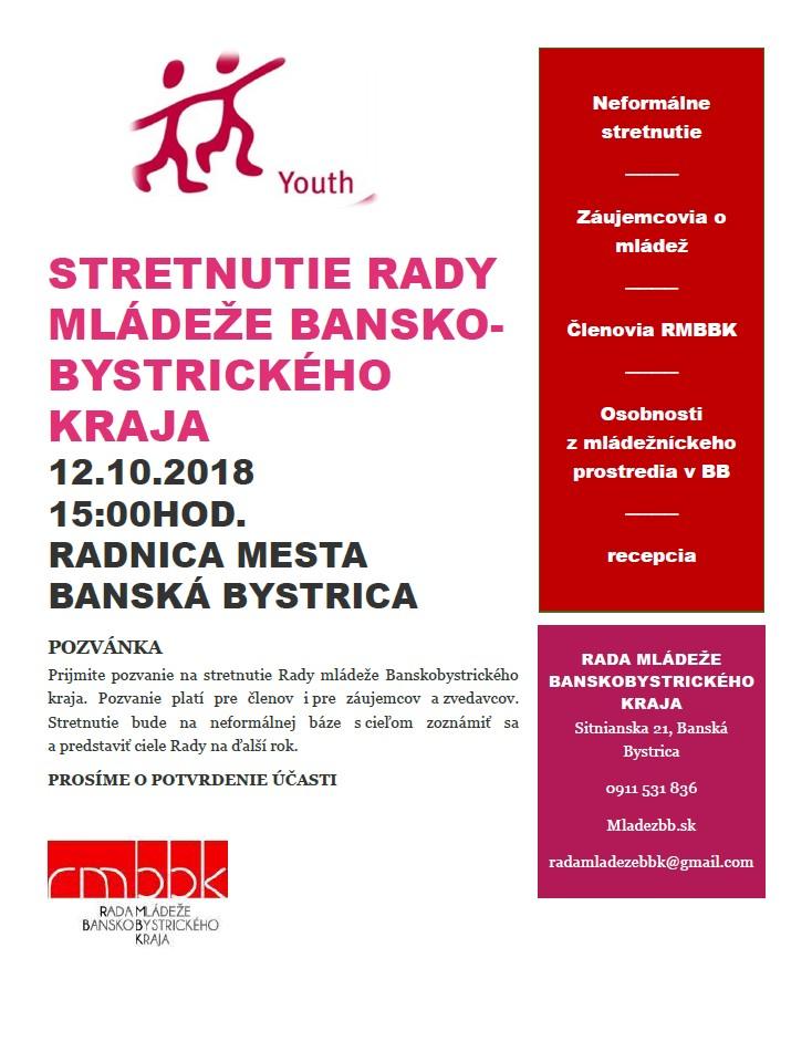 Stretnutie Rady mládeže Banskobystrického kraja